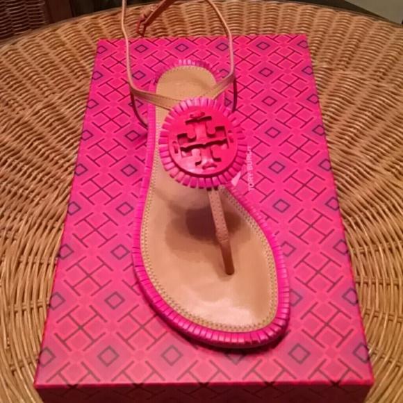 24d25efa0c9256 Tory Burch Miller Fringe Flat Sandals 6